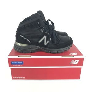 New Balance 990v4 Trail Shoes sz 8 Black M0990BK4